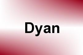 Dyan name image