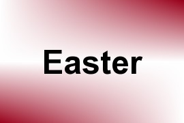 Easter name image
