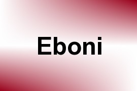Eboni name image