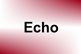 Echo name image