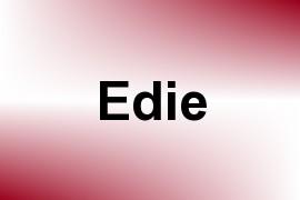 Edie name image