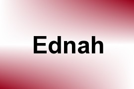 Ednah name image
