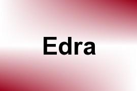 Edra name image