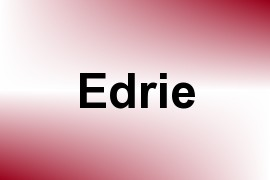 Edrie name image