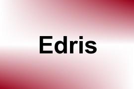 Edris name image