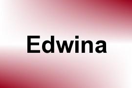 Edwina name image