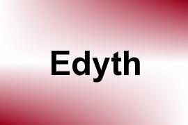 Edyth name image