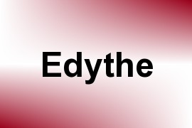 Edythe name image