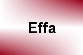 Effa name image