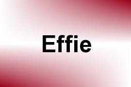 Effie name image