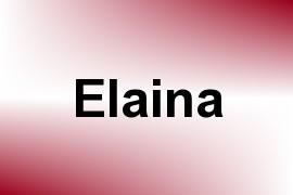 Elaina name image