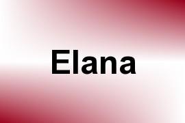 Elana name image