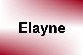 Elayne name image