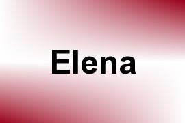 Elena name image