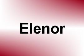 Elenor name image