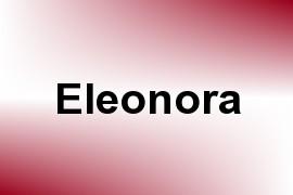 Eleonora name image