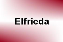Elfrieda name image