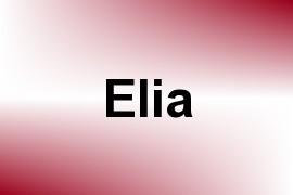 Elia name image