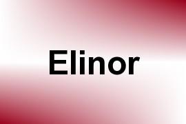 Elinor name image