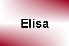 Elisa name image