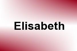 Elisabeth name image