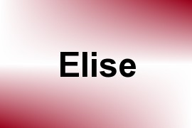 Elise name image