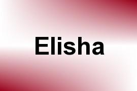 Elisha name image