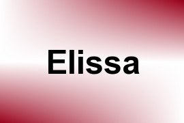 Elissa name image