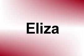 Eliza name image