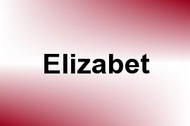 Elizabet name image