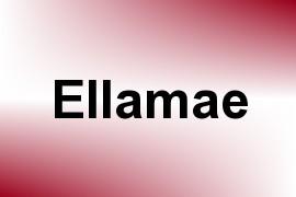 Ellamae name image