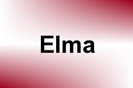 Elma name image