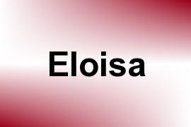 Eloisa name image