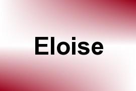Eloise name image