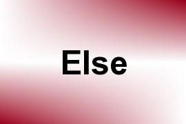 Else name image