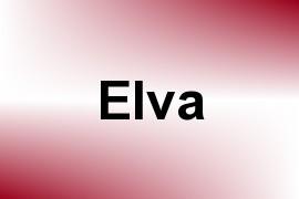 Elva name image