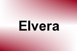 Elvera name image