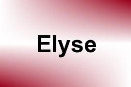 Elyse name image