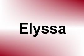 Elyssa name image
