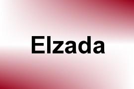 Elzada name image