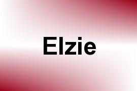 Elzie name image