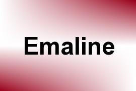 Emaline name image