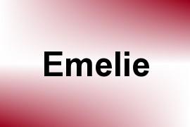 Emelie name image