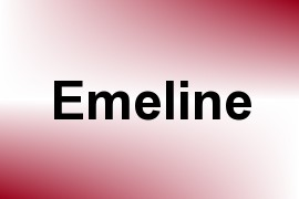 Emeline name image