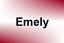 Emely name image