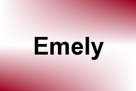Emely name image
