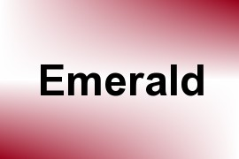 Emerald name image