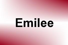 Emilee name image