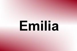 Emilia name image