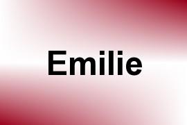 Emilie name image